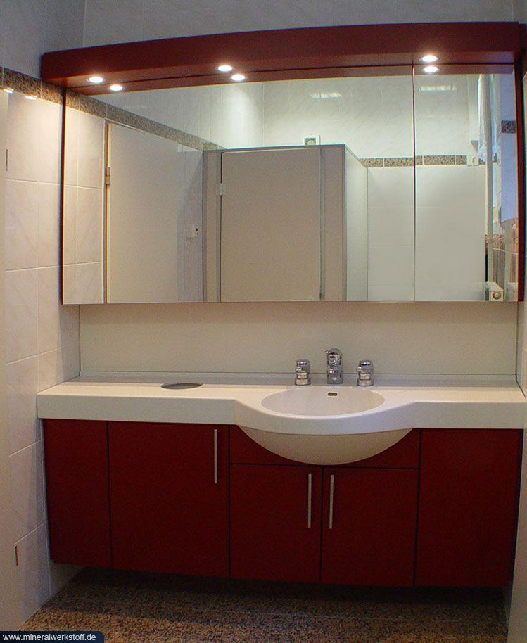 varicor waschtischmodell waschtisch mit unterschrank und spiegel. Black Bedroom Furniture Sets. Home Design Ideas